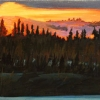 A Little Warmth On a Very Cold Day 20-x6 Sold