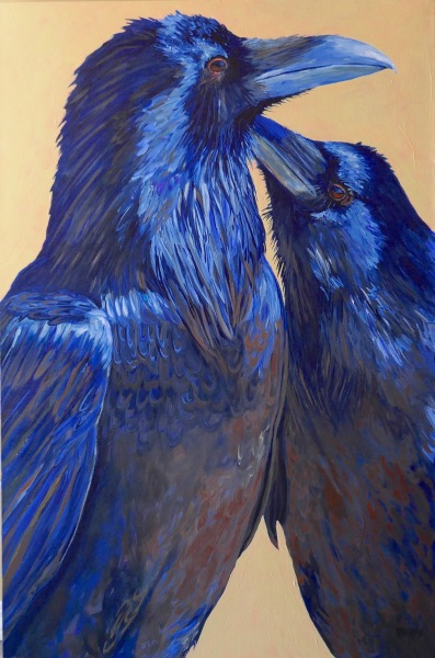 A Very Private Moment  24x36  Mady Thiel-Kopstein SOLD