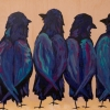 Whole Lotta Love 12x16 wood panel Mady Thiel-Kopstein gifted