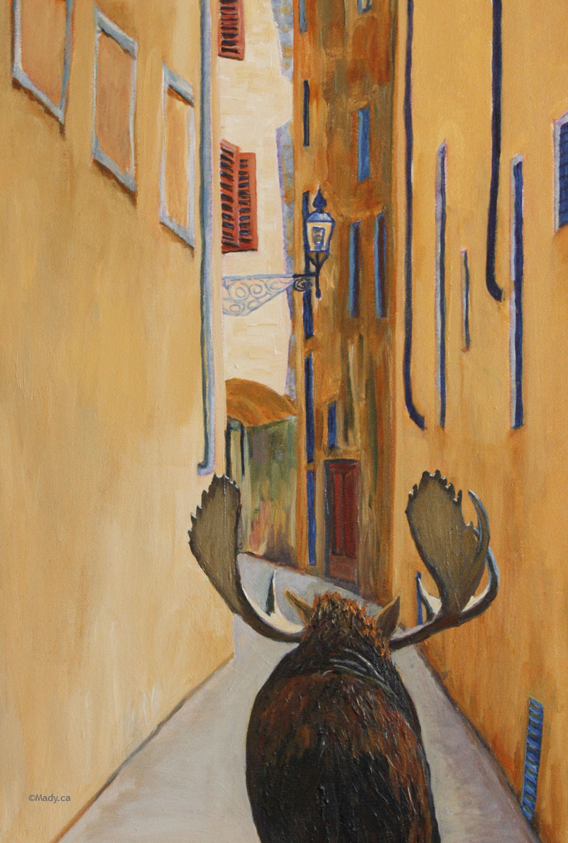 Wild About Italy 16 x 20  gifted