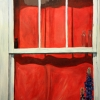 Window Treatment-24-x-36-SOLD- Mady Thiel-Kopstein