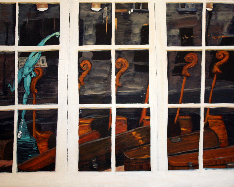 Just Throwing It Out There-16x20-wood-panel-Mady Thiel-Kopstein