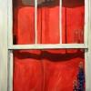Window Treatment-24-x-36-SOLD- Mady Thiel-Kopstein